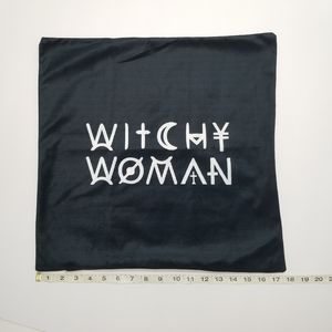 Witchy Woman decorative pillow cover